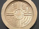 「長生無極」瓦当-【列備五都-秦漢時代の中国都市】-成都博物館-四川成都