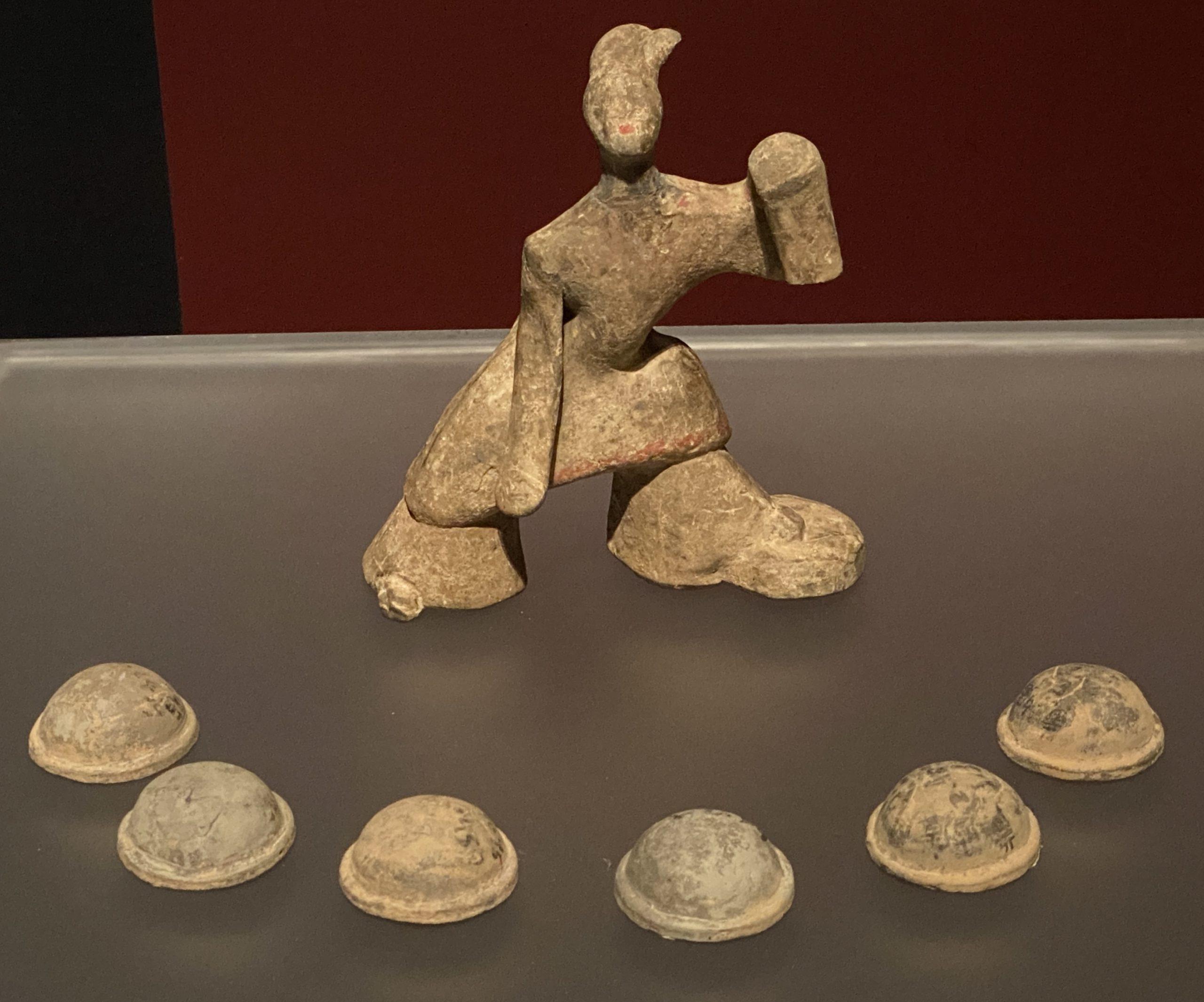 七盤女舞俑-【列備五都-秦漢時代の中国都市】-成都博物館-四川成都