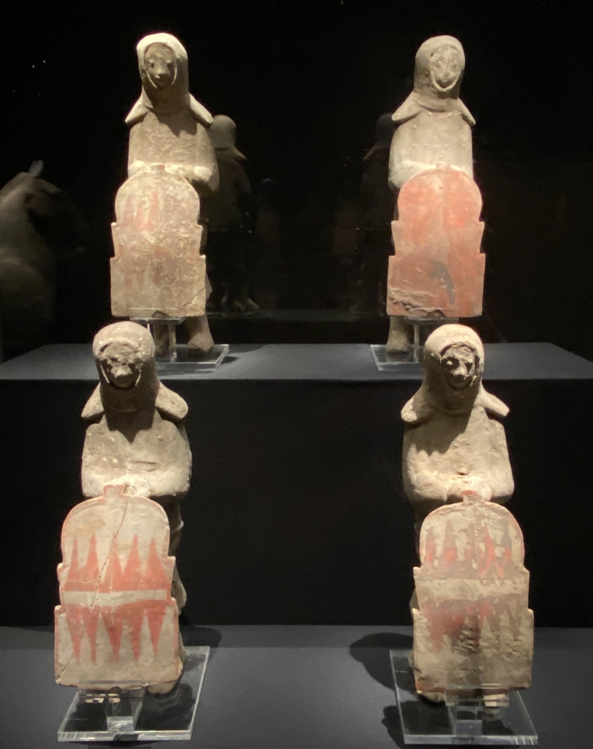 持盾立俑-【列備五都-秦漢時代の中国都市】-成都博物館-四川成都