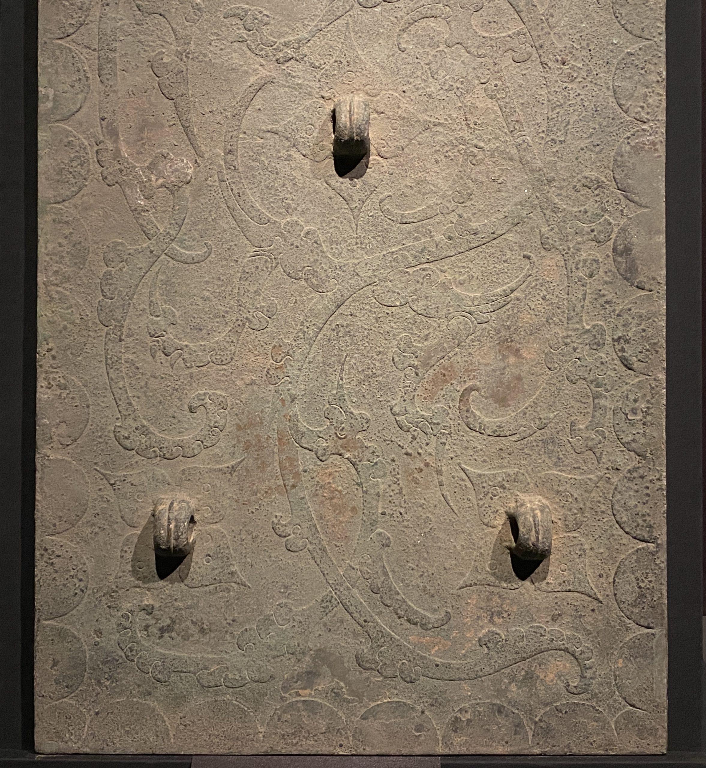 矩形銅鏡-【列備五都-秦漢時代の中国都市】-成都博物館-四川成都