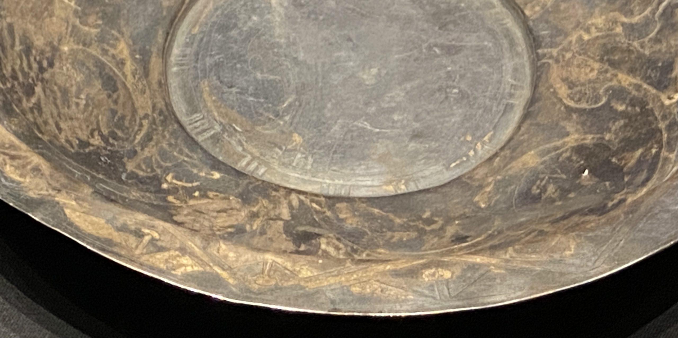 銀盤-【列備五都-秦漢時代の中国都市】-成都博物館-四川成都