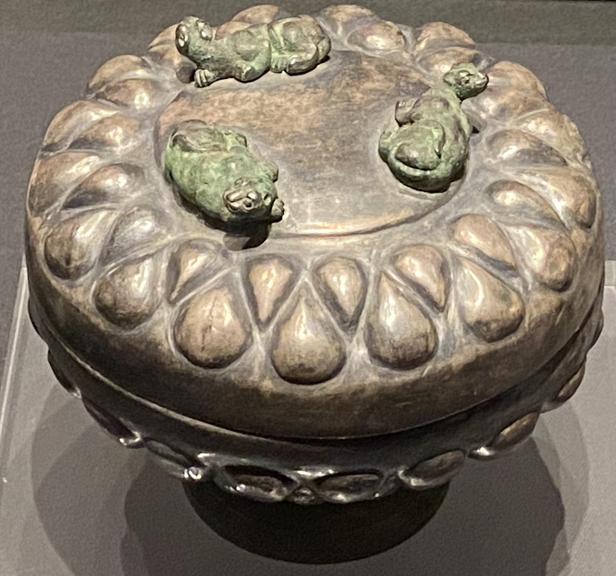 銀豆-【列備五都-秦漢時代の中国都市】-成都博物館-四川成都