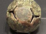 銅骰子-【列備五都-秦漢時代の中国都市】-成都博物館-四川成都