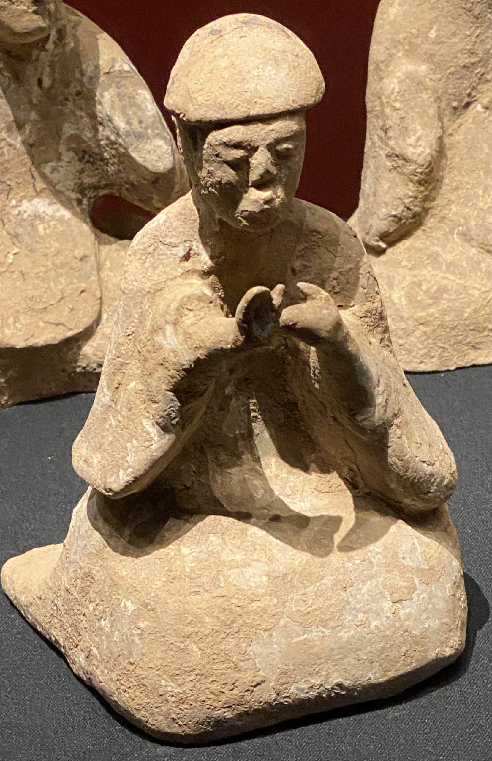 宴楽俑-【列備五都-秦漢時代の中国都市】-成都博物館-四川成都