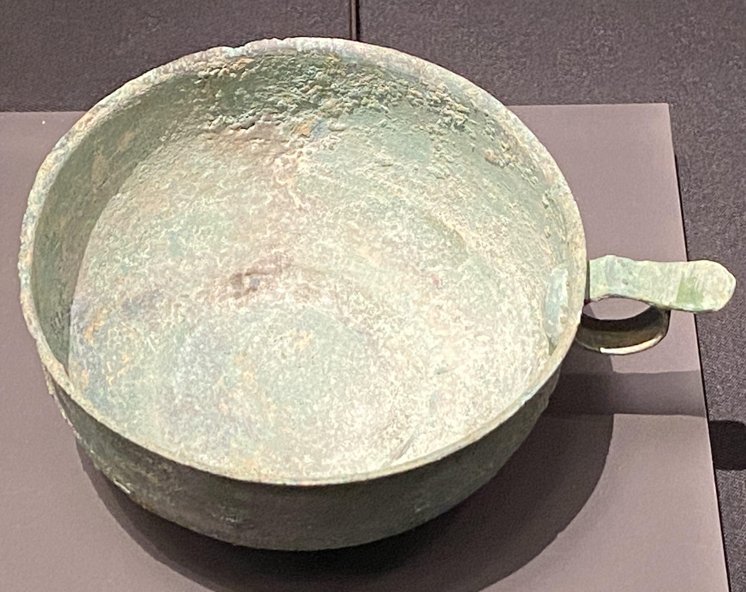 銅片耳杯-【列備五都-秦漢時代の中国都市】-成都博物館-四川成都