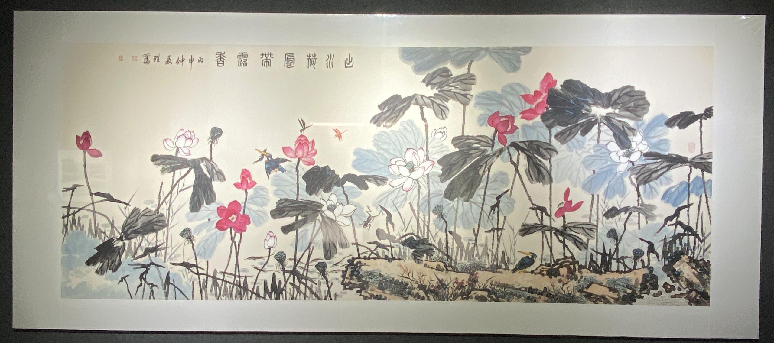 「丹青を振りかけ、詩情を送る-何継篤個人書画展」成都市美術館