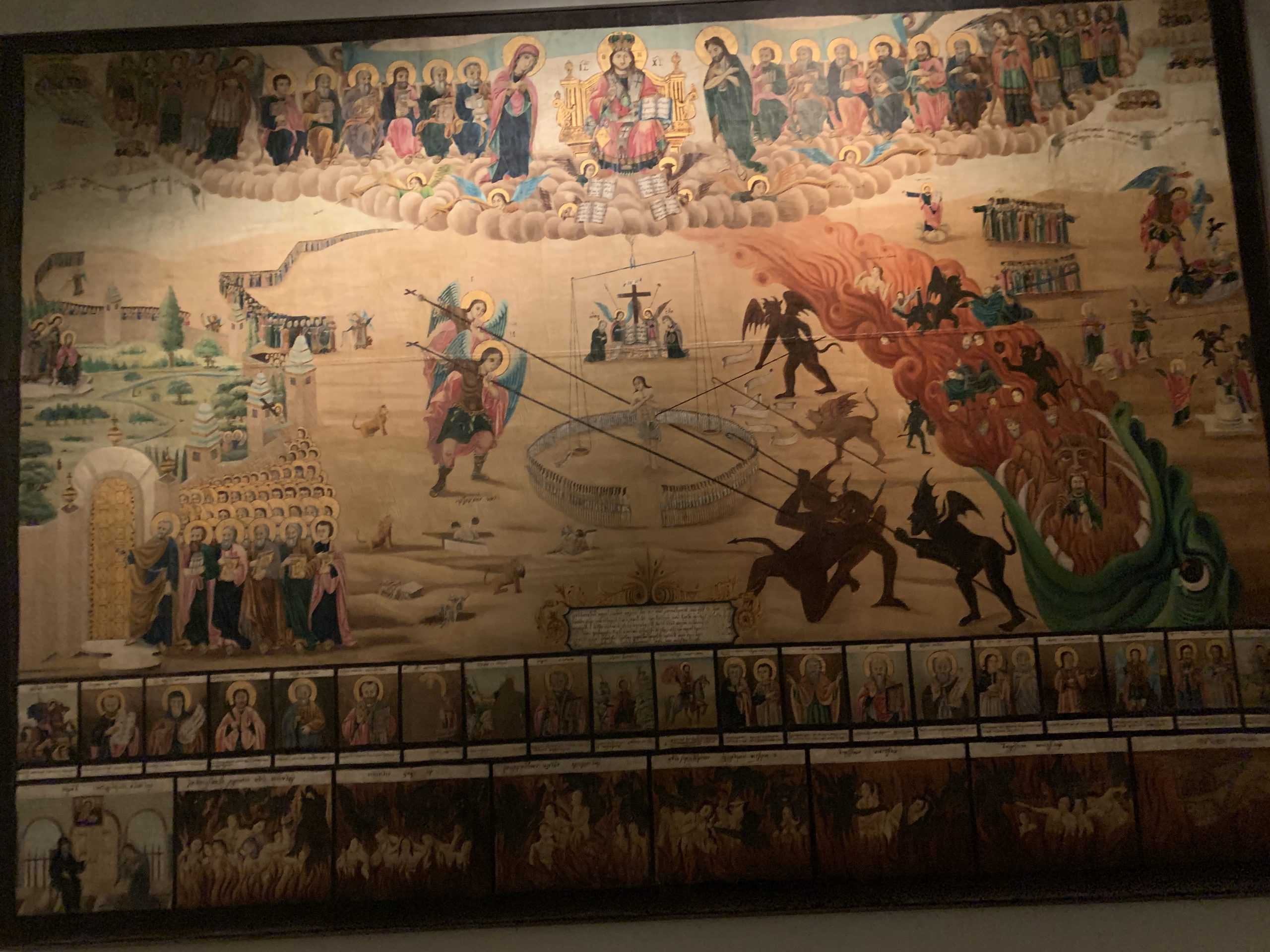 ビザンチン・クリスチャン博物館-アテネ-ギリシャ-撮影:劉雲昊2019.9.8