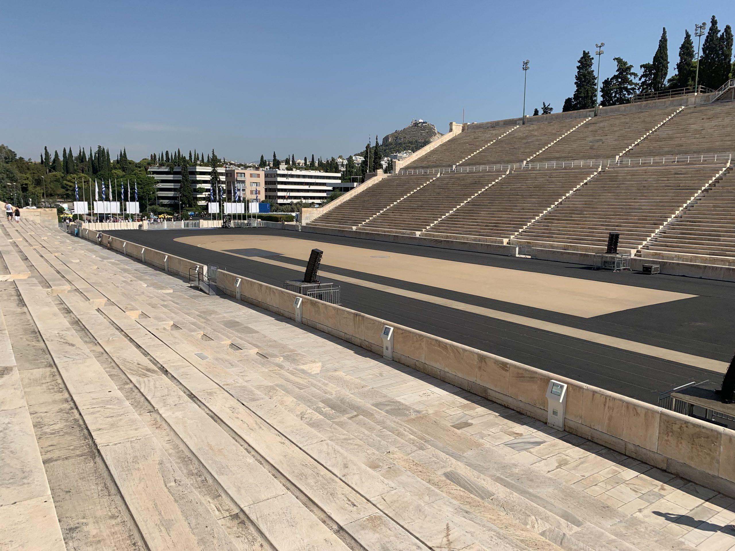 パナテナイック スタジアム-アテネ-ギリシャ-撮影:劉雲昊2019.9.9