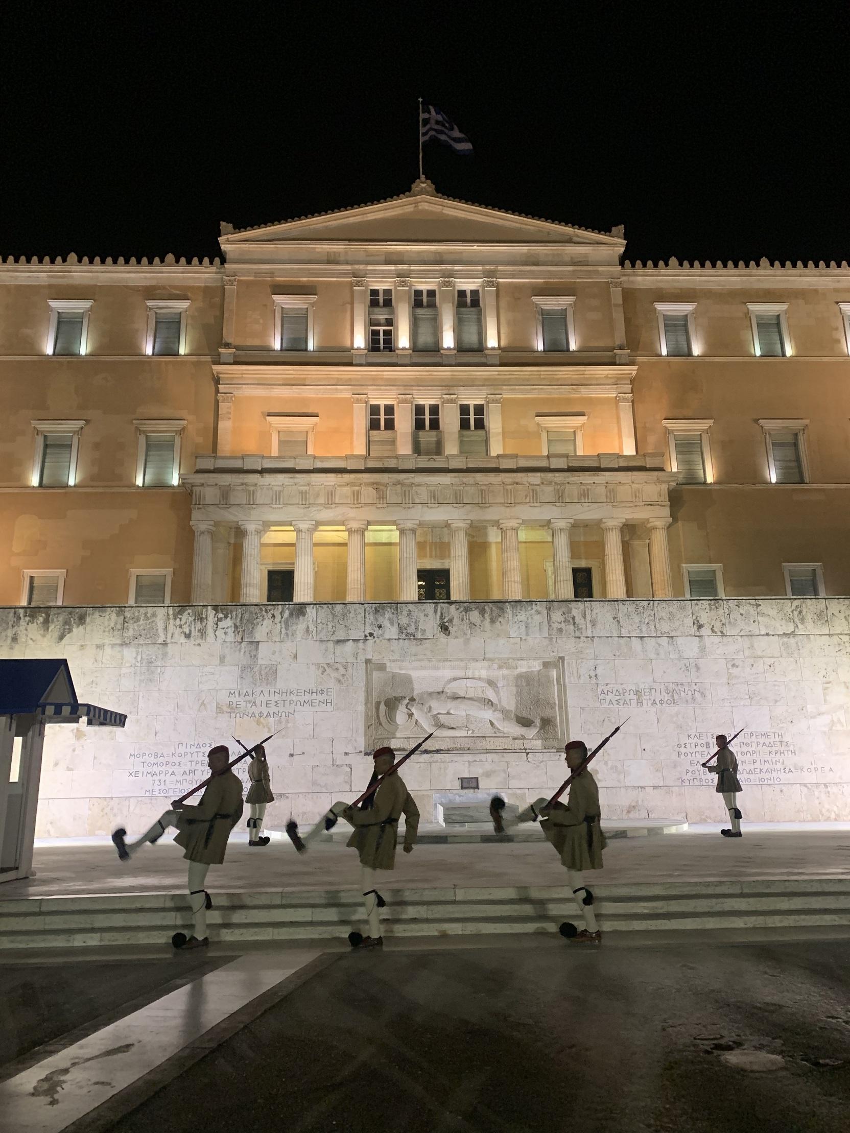 シンタグマ広場-アテネ-ギリシャ-撮影:劉雲昊2019.9.8