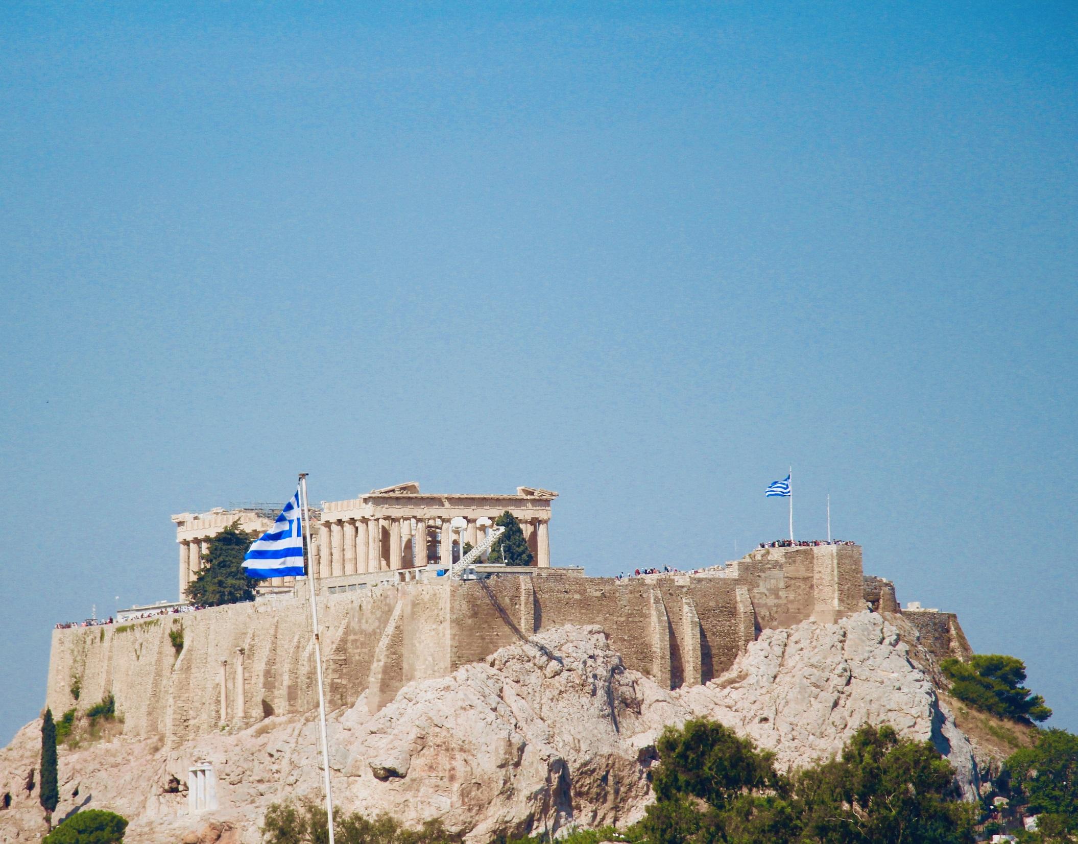 アクロポリス-アテネ-ギリシャ-撮影:劉雲昊2019.9.8
