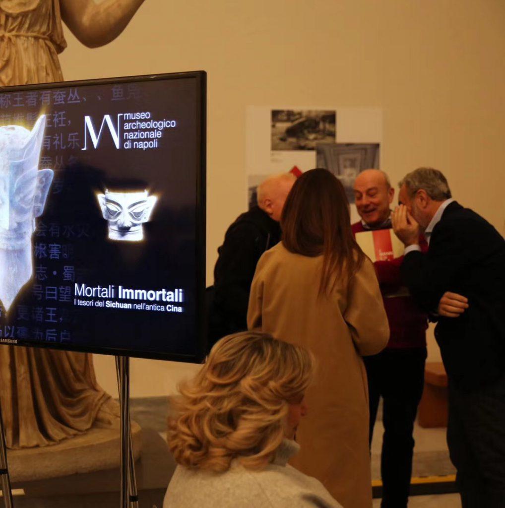三星堆-ナポリ国立考古博物館-2018-12.14-15-撮影:雷雨
