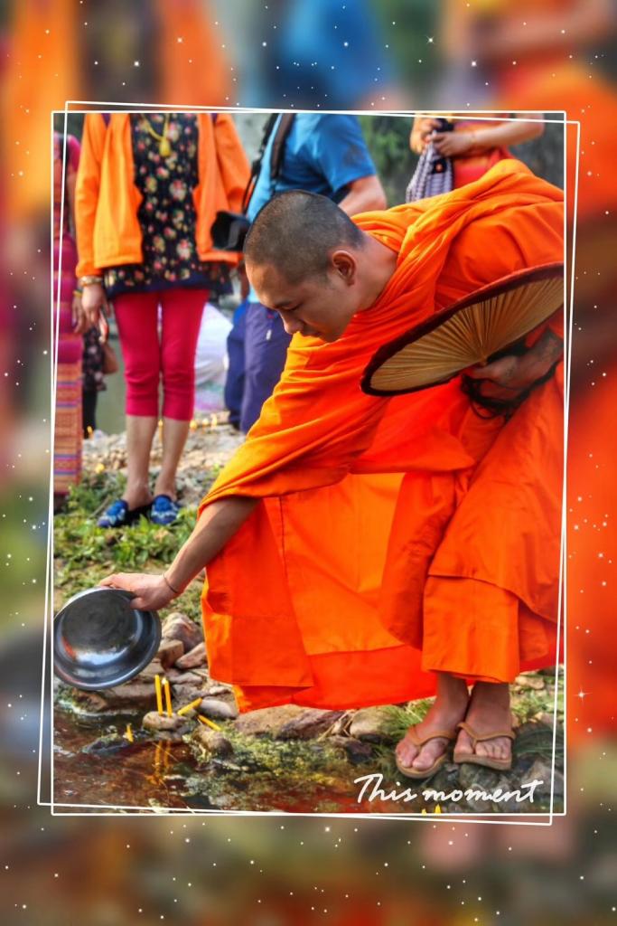善行徳を積み-活かせ福を積み-勐景来傣寨-2019年4月20日撮影:唐学鋒