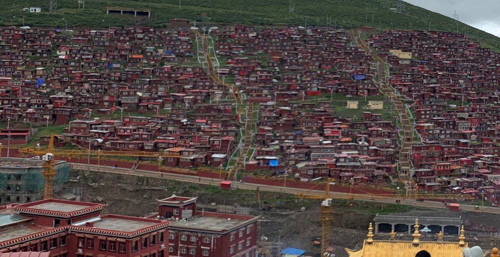 五明佛学院-喇荣寺-色達県-カンゼ・チベット族自治州-四川-撮影:楊羚