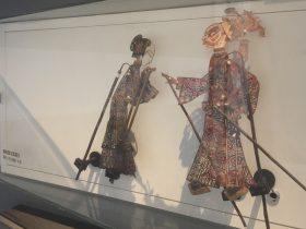 秦始皇と孟姜女-影舞万象-偶戲大千-中国影絵博物館展示室2-成都博物館-成都市
