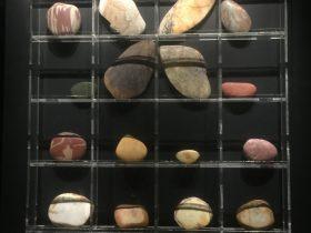 美石【1】-展示ホール3-天地は絶えず-金沙遺跡博物館-成都市