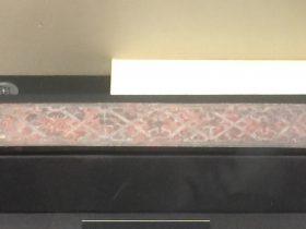 長條形錯銀銅鑲飾-建都【発見・中山国】特別展-金沙遺跡博物館-成都市
