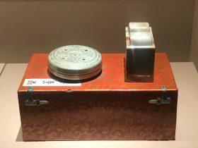 清乾隆-象生瓷金鐘籠-崇敬殿-【重華宮へ入り】巡回展-成都博物館