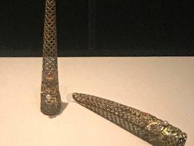 清・銀鍍金螺絲指甲套-重華宮-【重華宮へ入り】巡回展-成都博物館