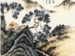 【詠風・唐・王勃】書・画:王英文-蘭里居士