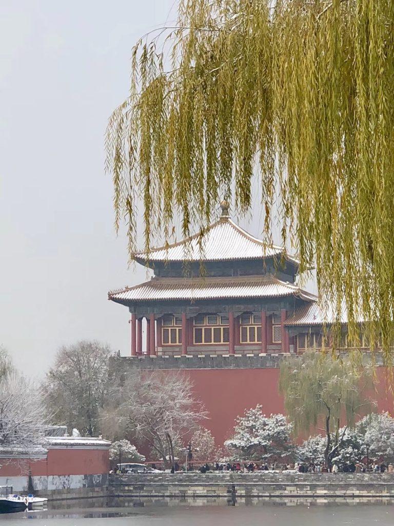 2019年11月30日故宮と景山の周辺-北京-撮影:殷