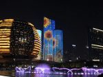 夜-杭州の美-ライトアップ-杭州-浙江省-写真提供:林必忠