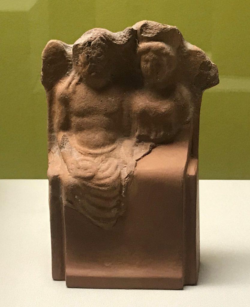 王座上のヘラとゼウス像--特別展【彩絵地中海-PAESTUM-一つ古城の文明と幻想】-四川博物院