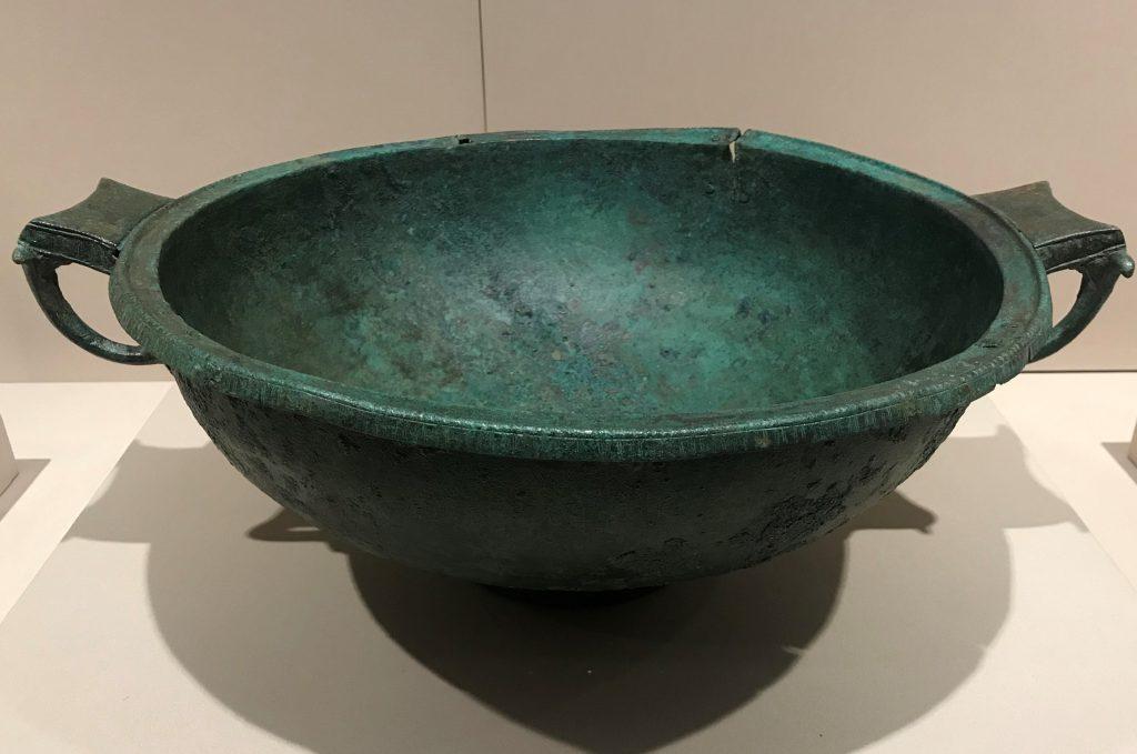 青銅手洗い器-特別展【彩絵地中海-PAESTUM-一つ古城の文明と幻想】-四川博物院