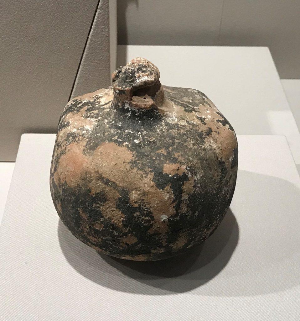 陶土石榴-特別展【彩絵地中海-PAESTUM-一つ古城の文明と幻想】-四川博物院