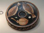 魚類模様円盤-特別展【彩絵地中海-PAESTUM-一つ古城の文明と幻想】-四川博物院