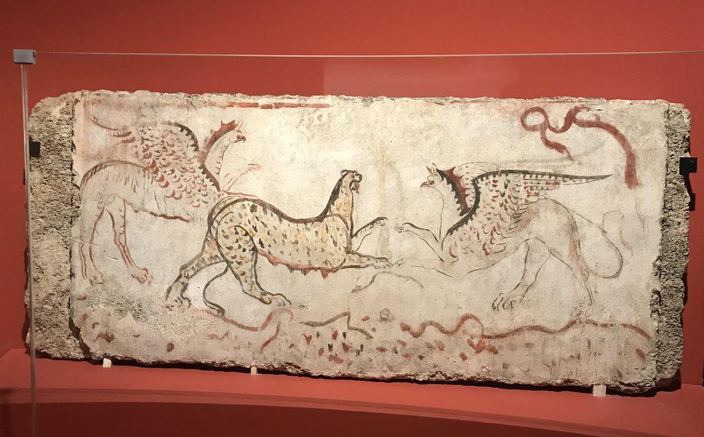 南スラブ-動物と戦い-特別展【彩絵地中海-PAESTUM-一つ古城の文明と幻想】-四川博物院