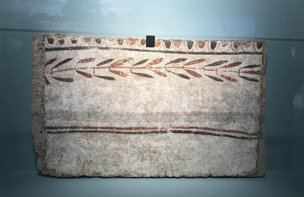 南スラブ-植物模様-特別展【彩絵地中海-PAESTUM-一つ古城の文明と幻想】-四川博物院
