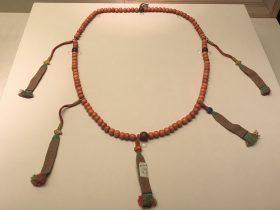 珊瑚念珠-敬天法祖-特別展-金玉琅琅-清代宮廷の儀式と生活-金沙遺跡博物館