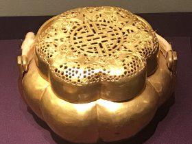 金手炉-万寿盛典-特別展-金玉琅琅-清代宮廷の儀式と生活-金沙遺跡博物館