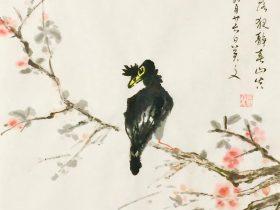 鳴澗-唐 · 王維-書・画:王英文-蘭里居士