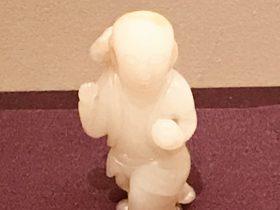 白玉童子-龍鳳呈祥-特別展【金玉琅琅-清代宮廷の儀式と生活】金沙遺跡博物館