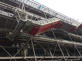 ポンピドゥー・センター-Centre Pompidou-パリ-フランス-2018年10月