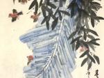 絶句二首・唐 · 杜甫-書・画:王英文-蘭裏居士