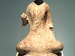 貼金彩絵石雕佛坐像-北齊-隋-青州印像-特別展【映世菩提】-成都博物館