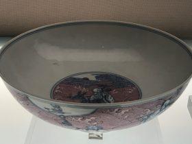 青花胭脂紅八仙紋碗-清代・道光-陶瓷館-陶磁館-四川博物院-成都