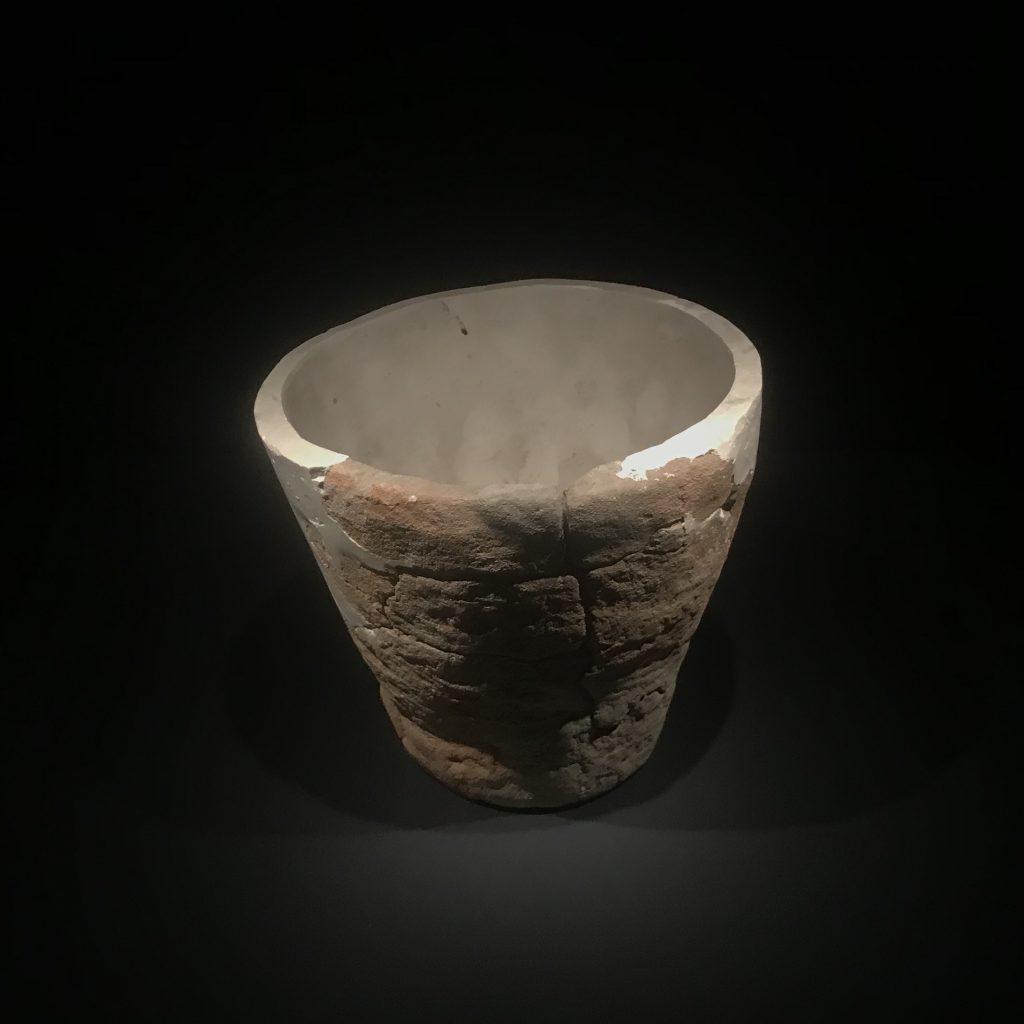 陶坩堝-第三発掘調査区-総合館-三星堆博物館-広漢市-徳陽市-四川省