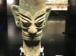 銅人頭像-先秦時代-常設展F2-成都博物館