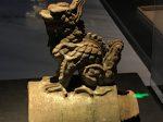 龍形琉璃跑獣-两漢魏晋南北朝-常設展F2-成都博物館