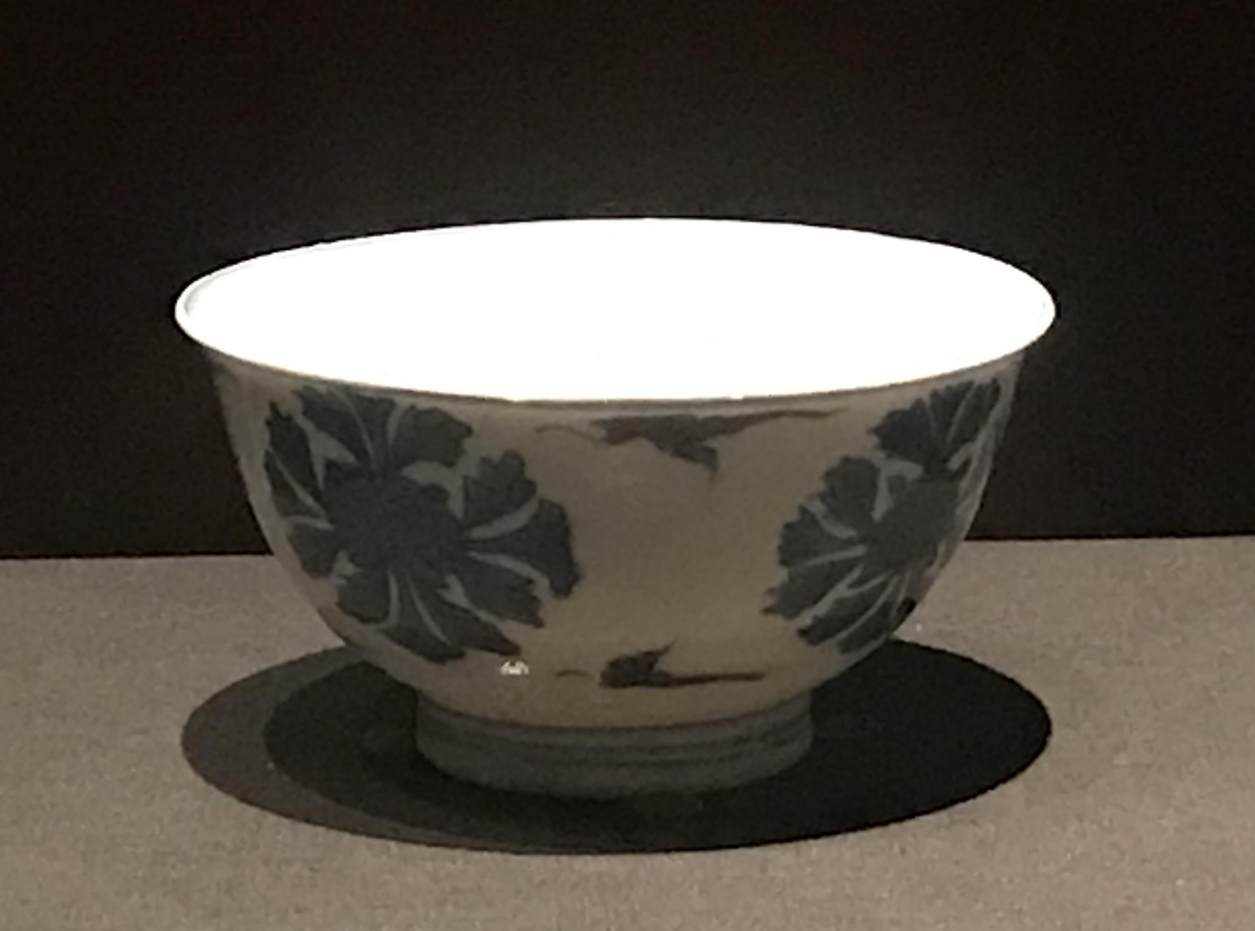 青花団花紋磁碗-明清時代-常設展F3-成都博物館