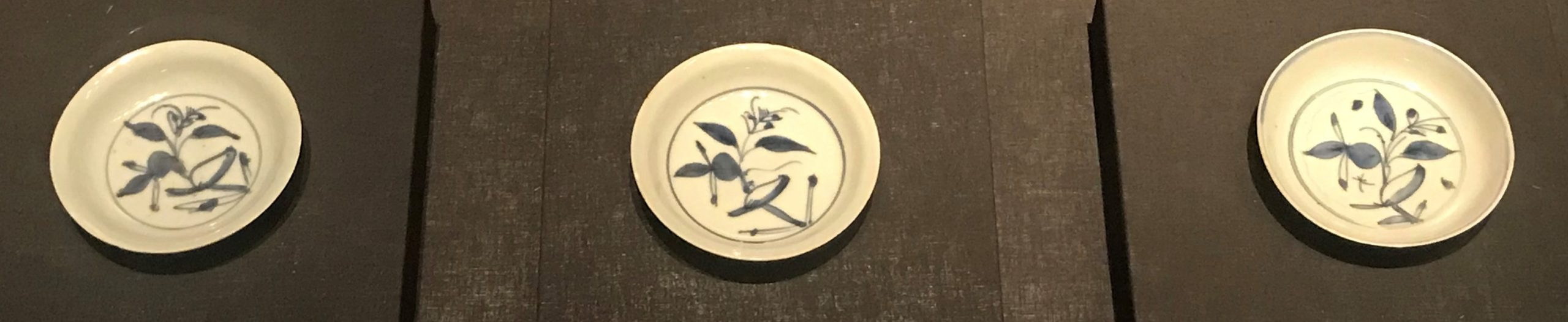 青花花鳥紋磁蝶-明清時代-常設展F3-成都博物館