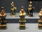 彩釉陶騎馬儀仗俑-彩釉陶侍從俑-明清時代-常設展F3-成都博物館