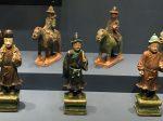 彩釉陶侍從俑-彩釉陶騎馬儀仗俑-明清時代-常設展F3-成都博物館