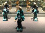 彩釉陶騎馬儀仗俑-彩釉陶馬-明清時代-常設展F3-成都博物館