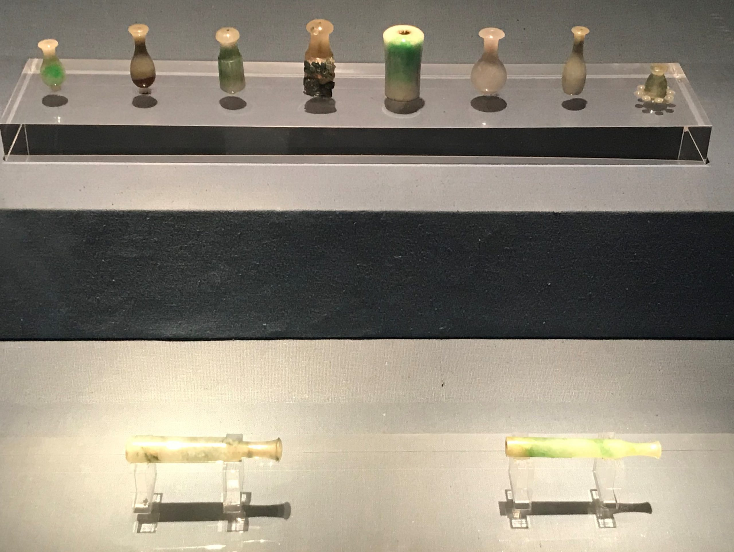 玉タバコホルダー-明清時代-常設展F3-成都博物館