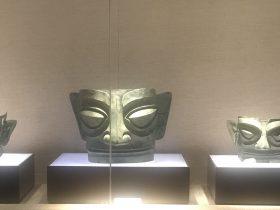 青銅人面具1-青銅器館-三星堆博物館-広漢市-徳陽市-四川省