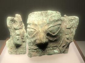 青銅人面具3-青銅器館-三星堆博物館-広漢市-徳陽市-四川省